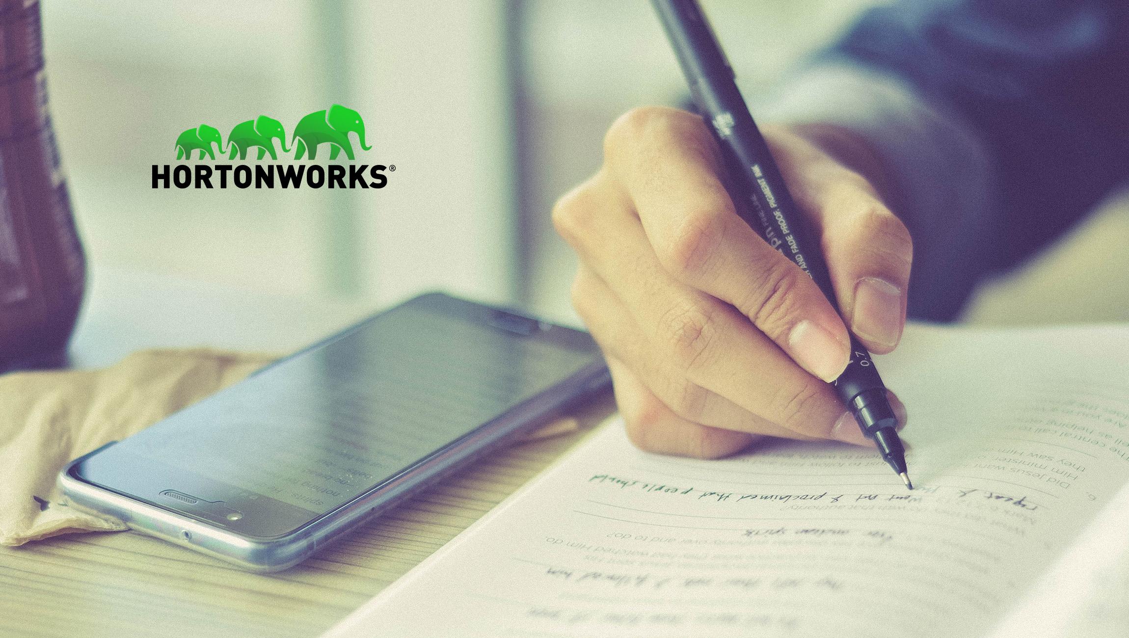 Hortonworks and Google Cloud Expand Partnership to