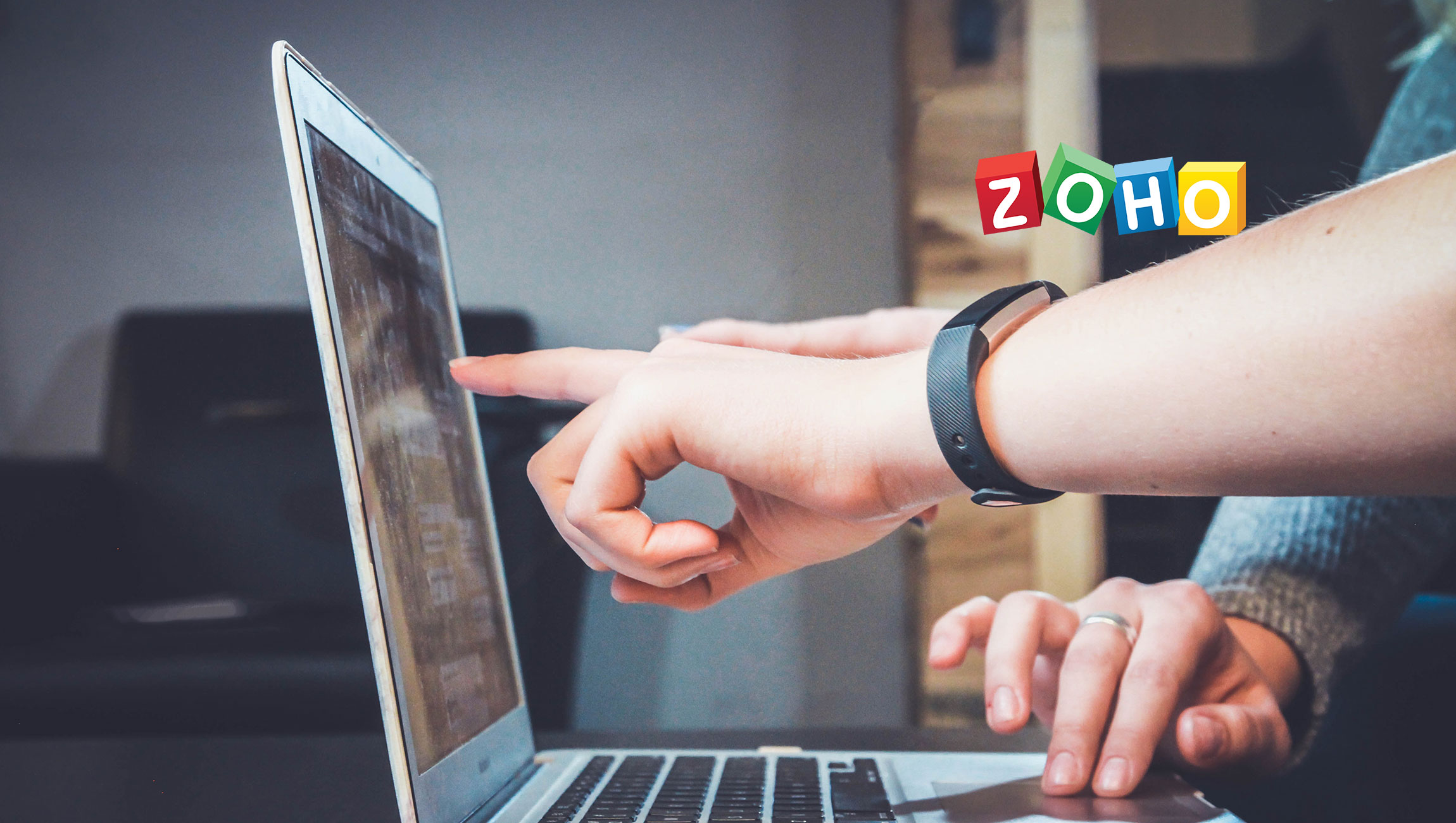 Deskforce Voice Integration With Zoho CRM