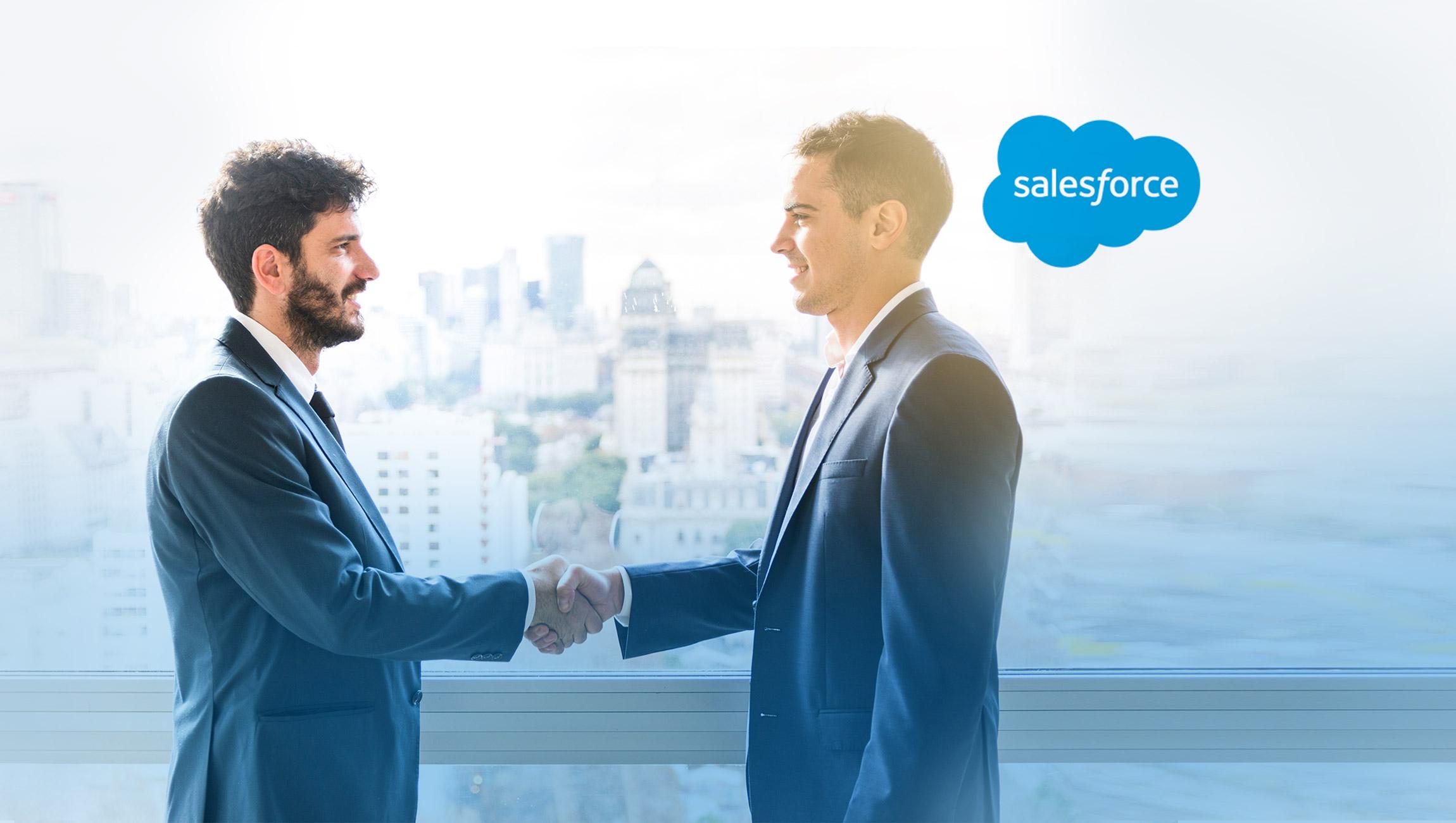 Forrester Names Salesforce Leader in Partner Relationship Management