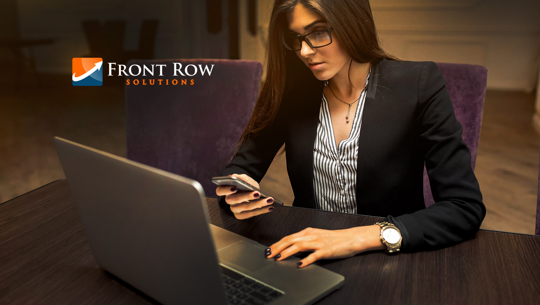 New Front Row Solutions Video Explains Real-Time Mobile CRM Platform