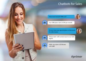 SalesTech chatbots