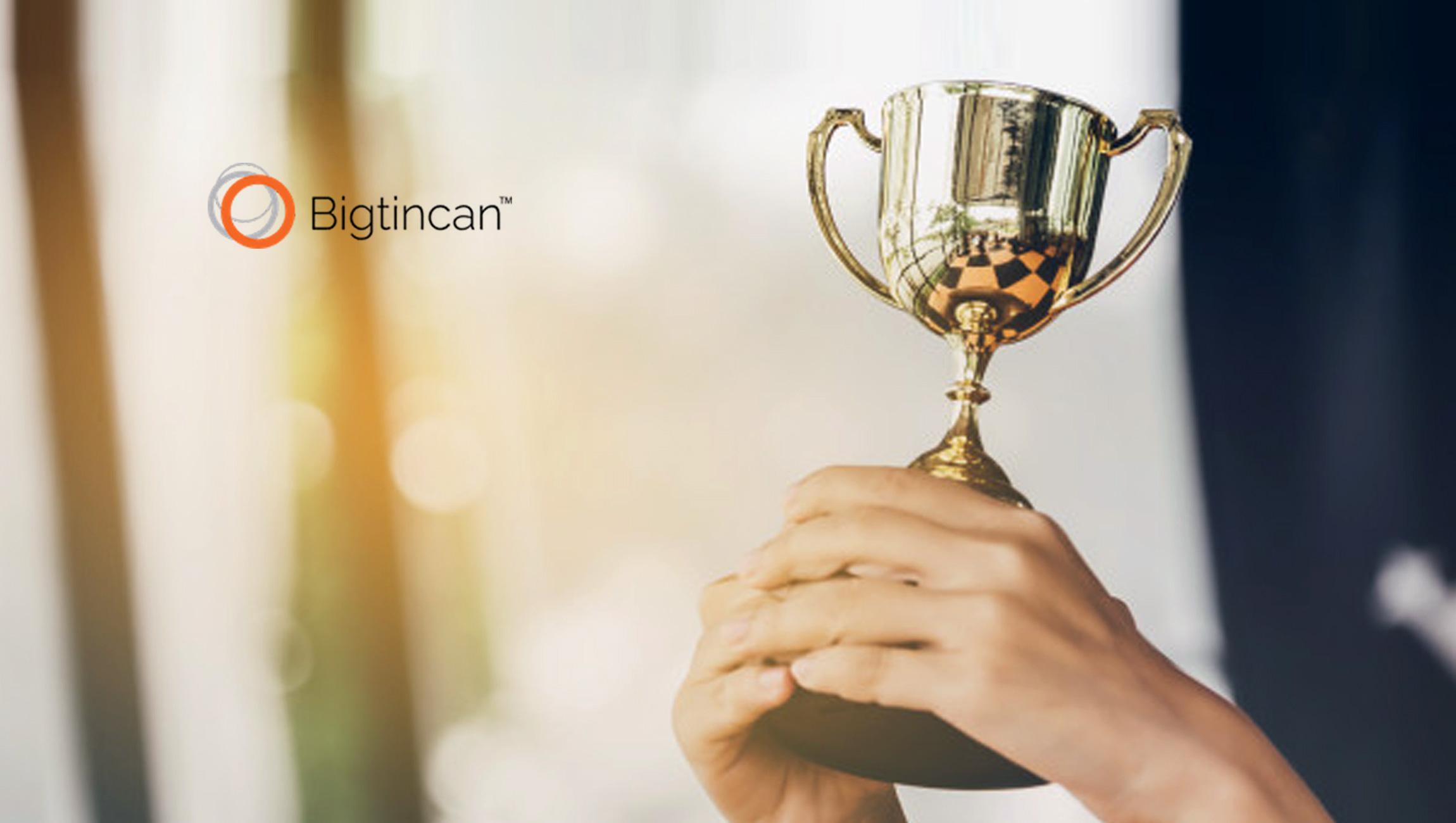 Bigtincan Wins Bronze Stevie Award in 2019 Stevie Awards for Sales & Customer Service