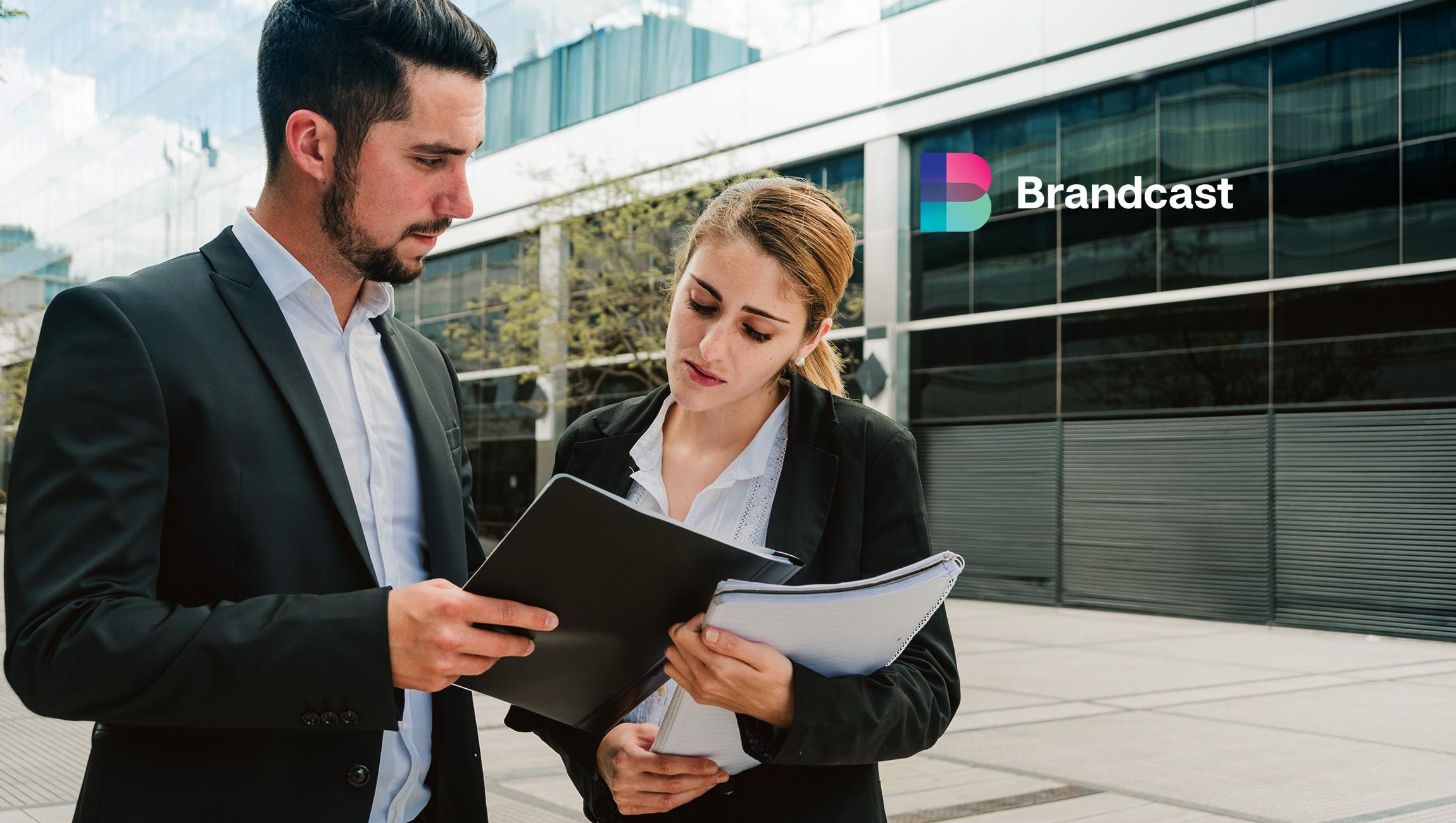 Brandcast Announces Availability on Salesforce AppExchange, the World's Leading Enterprise Apps Marketplace
