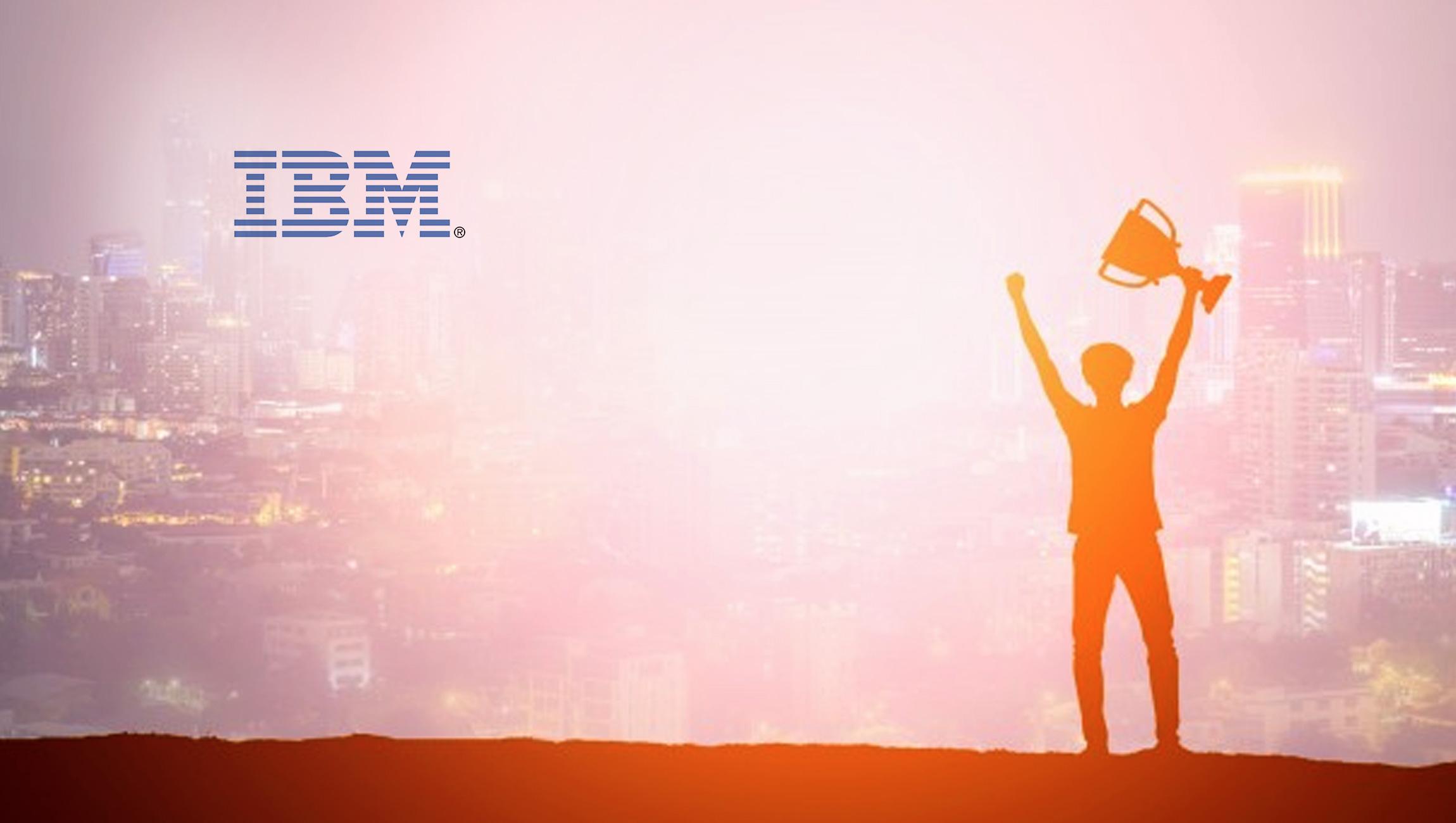 IBM's Global Supply Chain Transformation Wins 2019 NextGen Supply Chain Leadership Award for Blockchain and IoT
