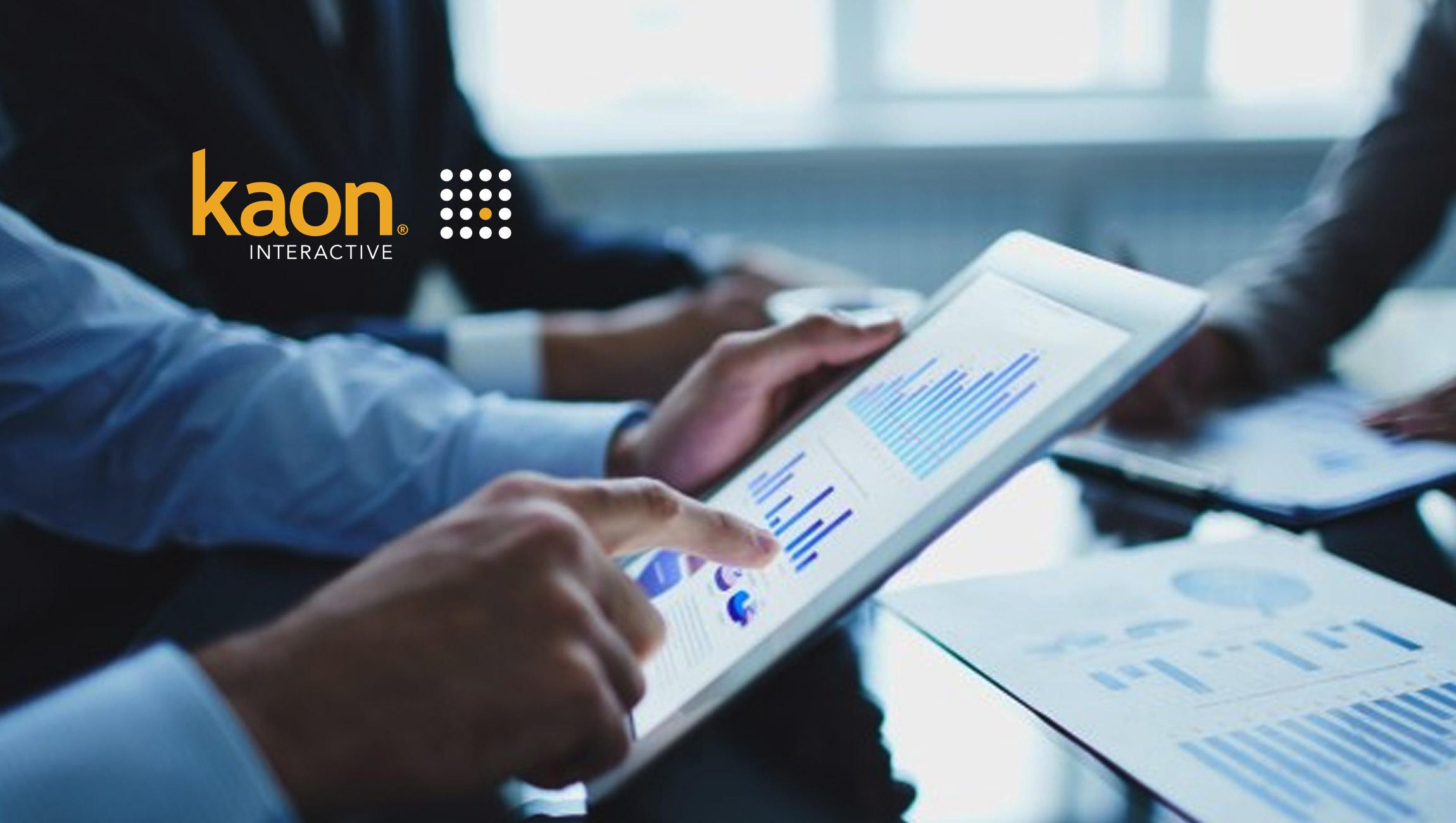 Kaon Interactive Adds Five Multi-Billion-Dollar Revenue Clients to Its Enterprise Roster