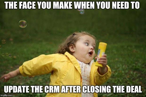 SalesTech humor - CRM