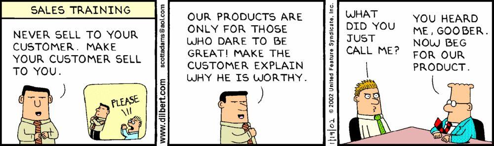 Sales Training Humor
